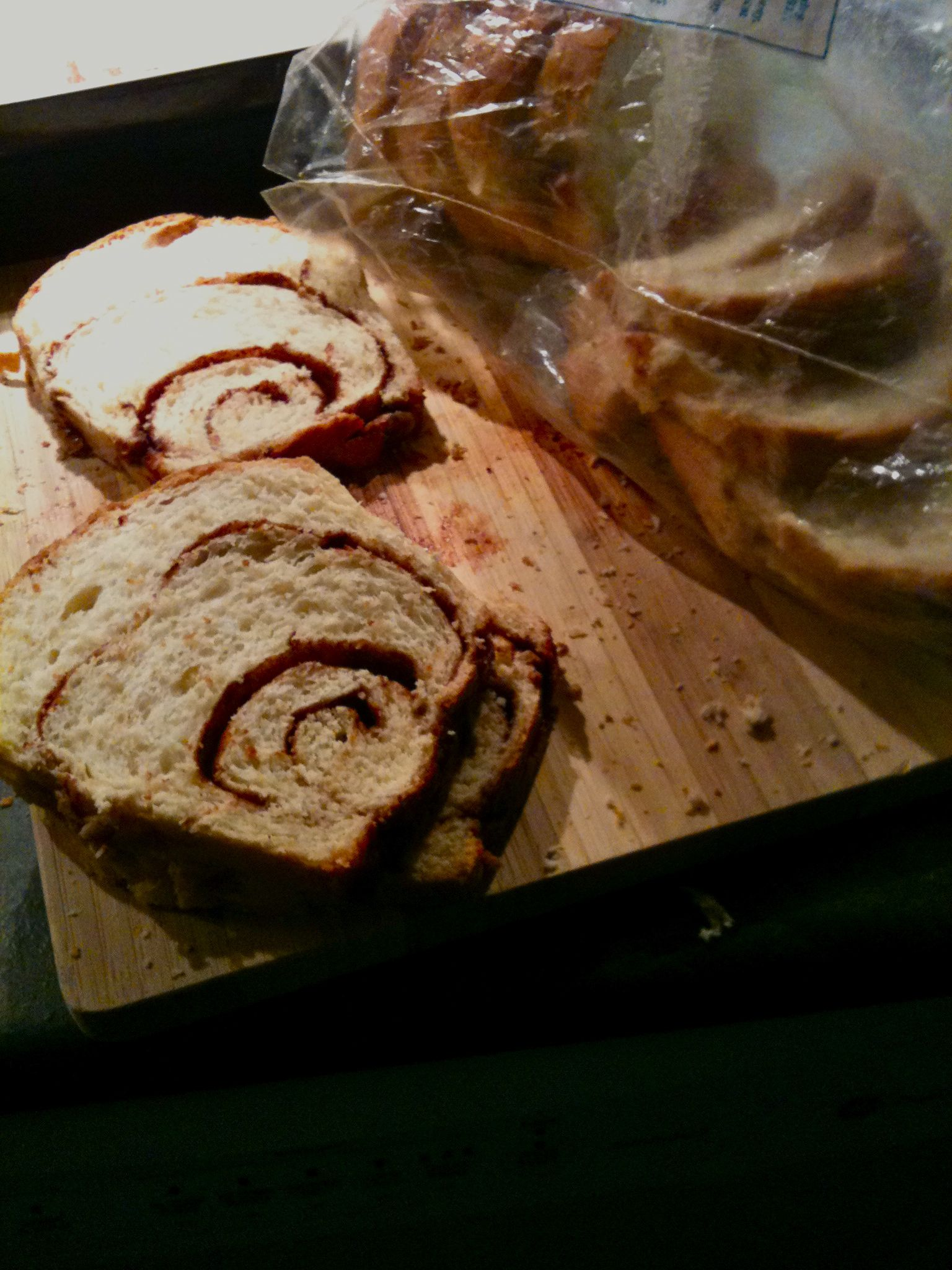 My grandmother's cinnamon bread